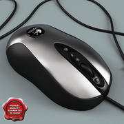 Logitech Optical Mouse 3d model