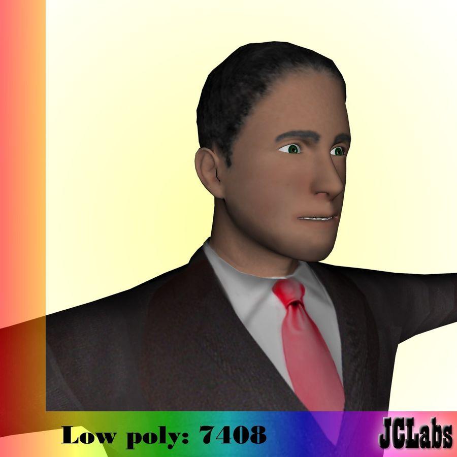 Man royalty-free 3d model - Preview no. 1