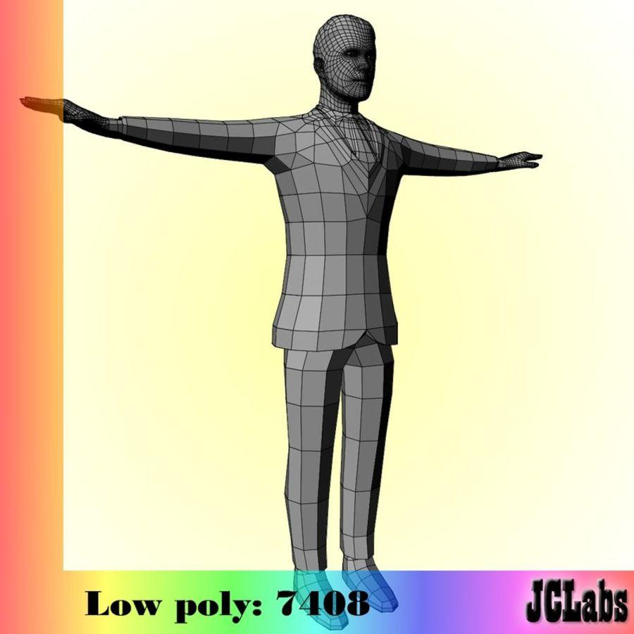 Man royalty-free 3d model - Preview no. 6