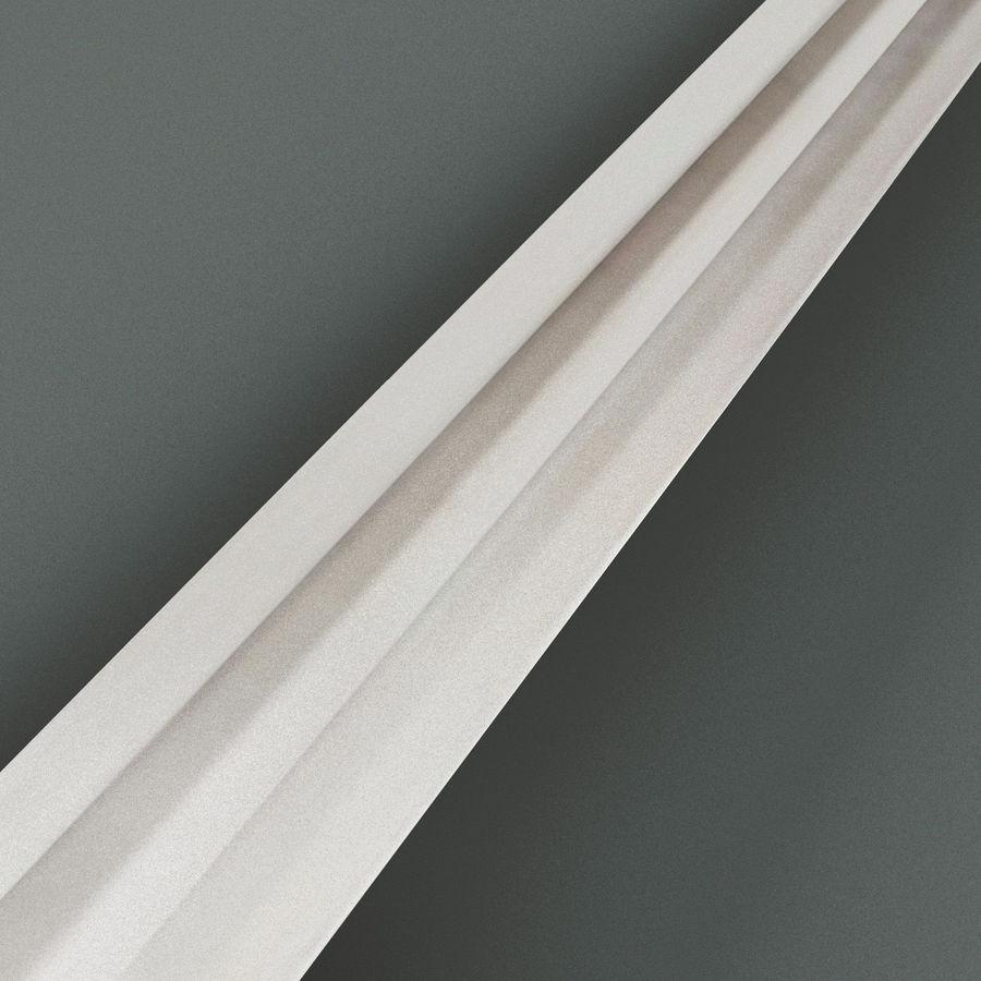 Viking Sword V4 royalty-free 3d model - Preview no. 6