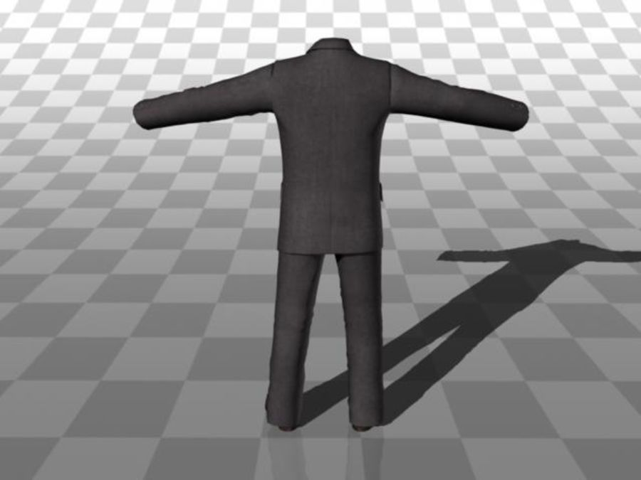 suit royalty-free 3d model - Preview no. 4
