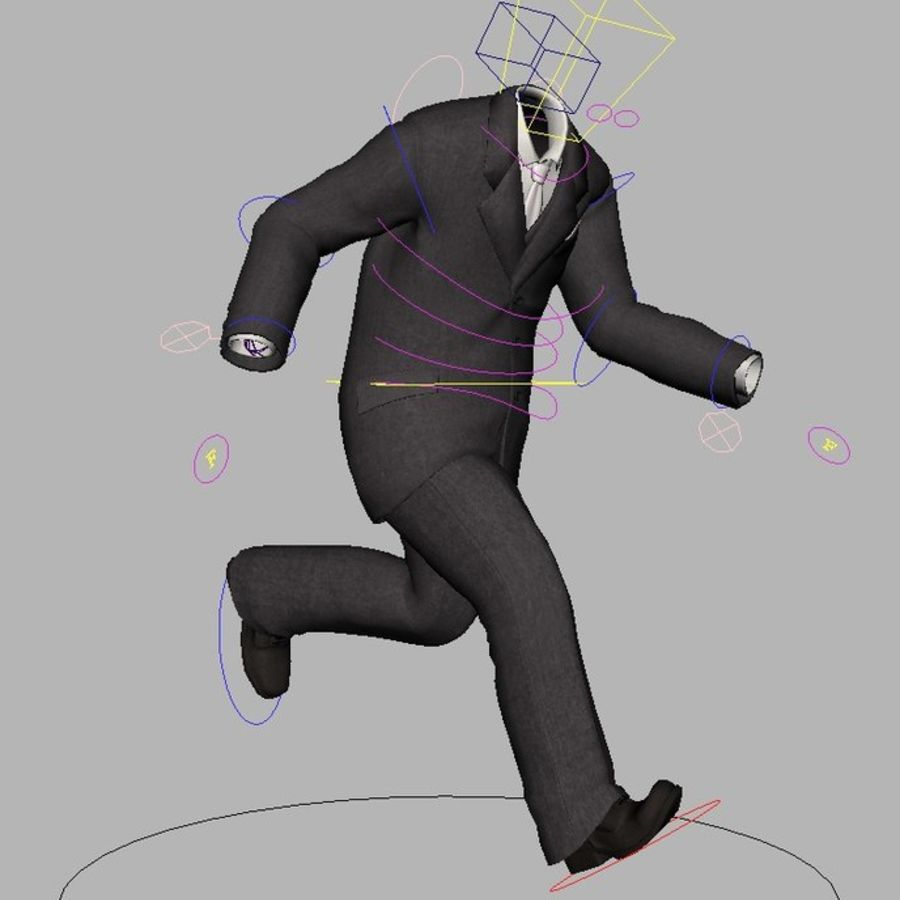 suit royalty-free 3d model - Preview no. 16