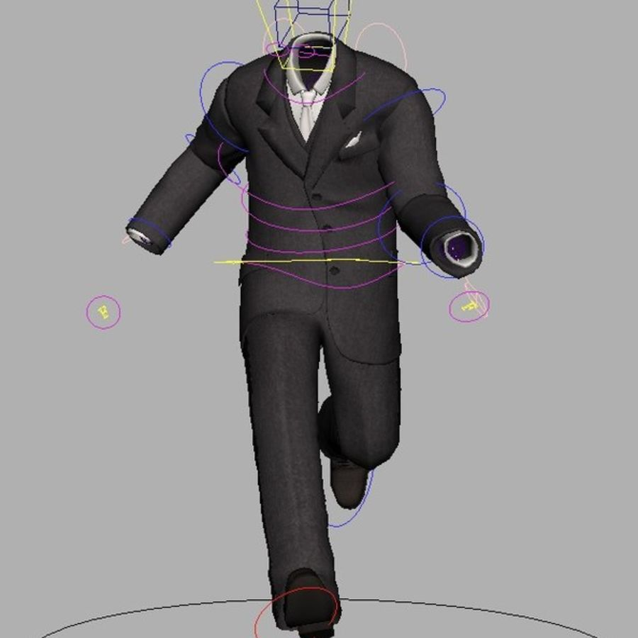 suit royalty-free 3d model - Preview no. 20