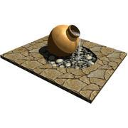 Urn Fountain 3d model
