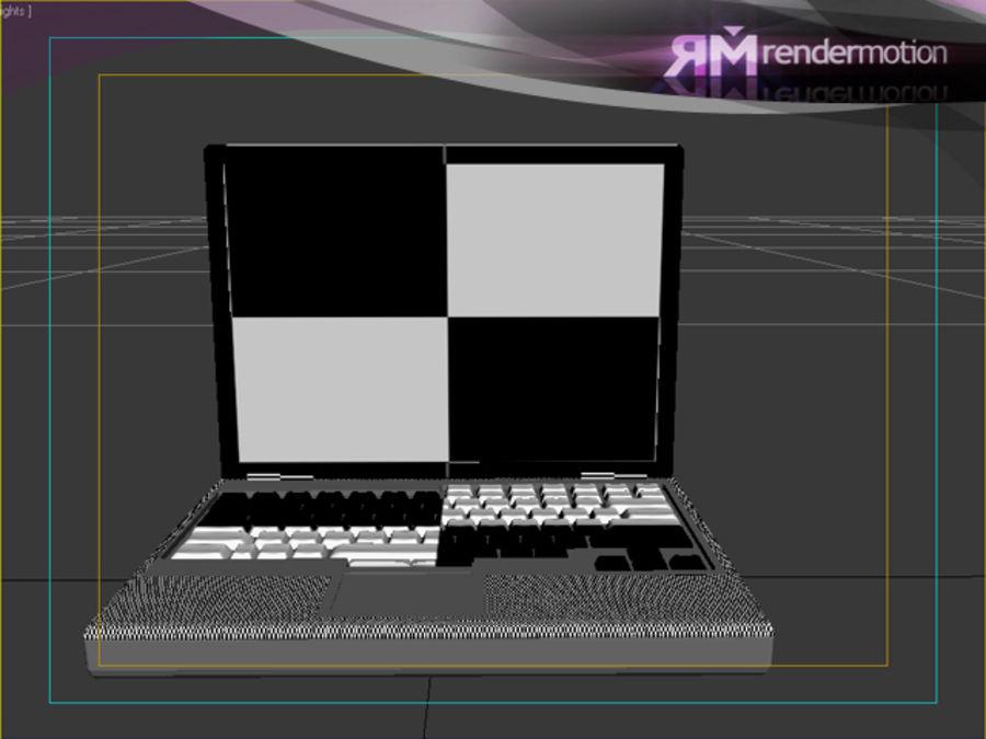 D1.C3.04 Laptop royalty-free 3d model - Preview no. 6
