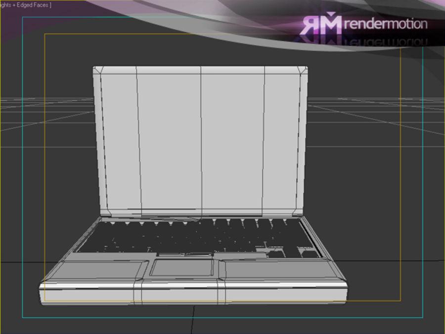 D1.C3.04 Laptop royalty-free 3d model - Preview no. 5