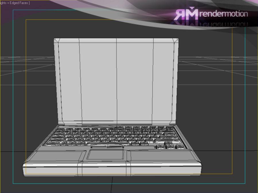 D1.C3.04 Laptop royalty-free 3d model - Preview no. 4