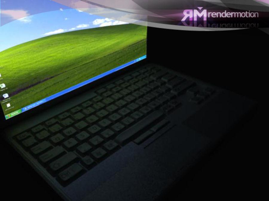 D1.C3.04 Laptop royalty-free 3d model - Preview no. 3