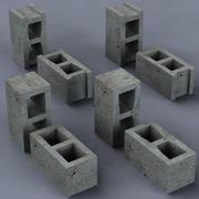 Concrete Masonry Unit 3d model