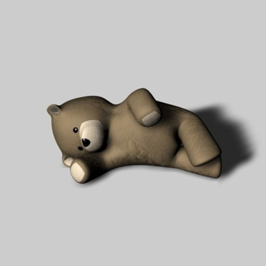 Toy Bear royalty-free 3d model - Preview no. 1