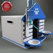 Dog Kennel V2 3d model
