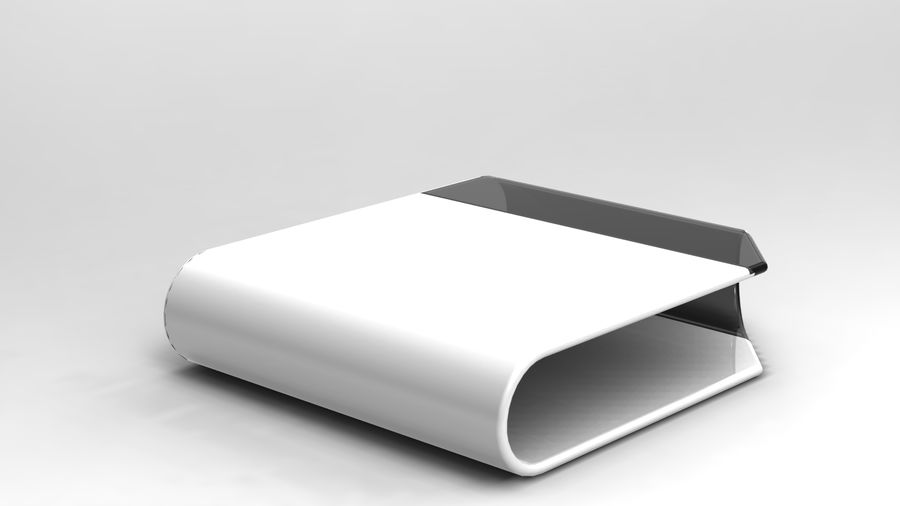 coffee table royalty-free 3d model - Preview no. 7