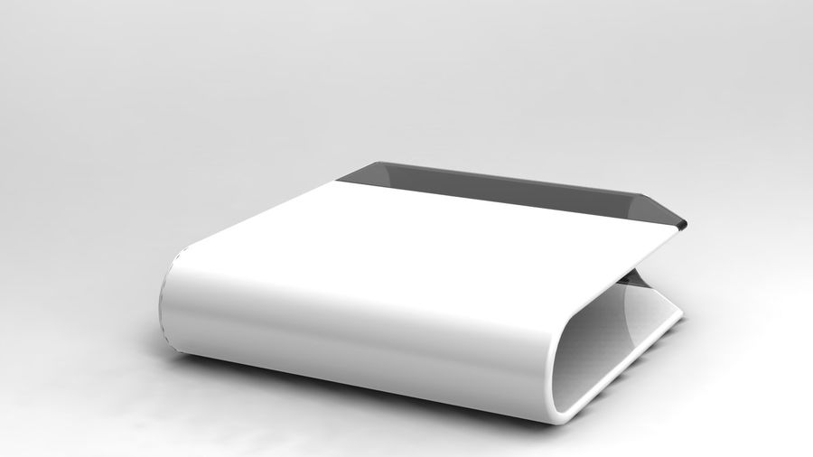 coffee table royalty-free 3d model - Preview no. 8