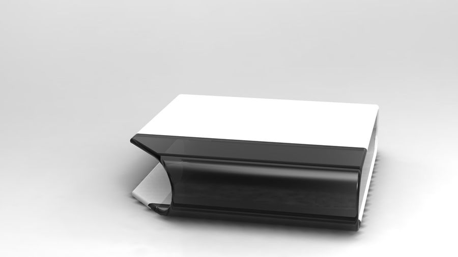 coffee table royalty-free 3d model - Preview no. 21