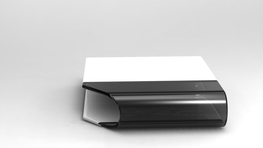 coffee table royalty-free 3d model - Preview no. 22