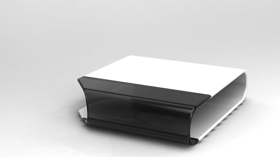 coffee table royalty-free 3d model - Preview no. 20