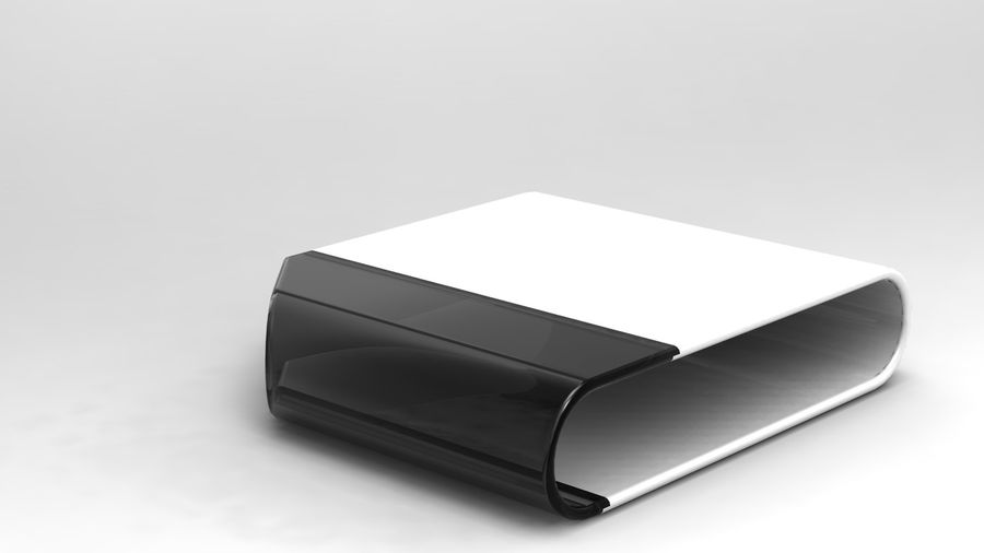 coffee table royalty-free 3d model - Preview no. 19