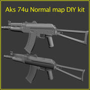 Aks 74u Bausatz 3d model
