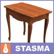 Table small 2 3d model