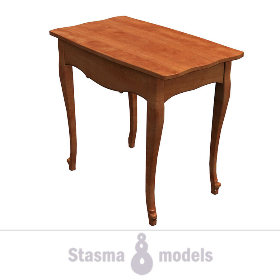 Table small 2 royalty-free 3d model - Preview no. 2