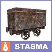Bañera minera modelo 3d