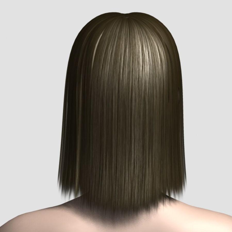 Hair_Mesh_09 royalty-free 3d model - Preview no. 3