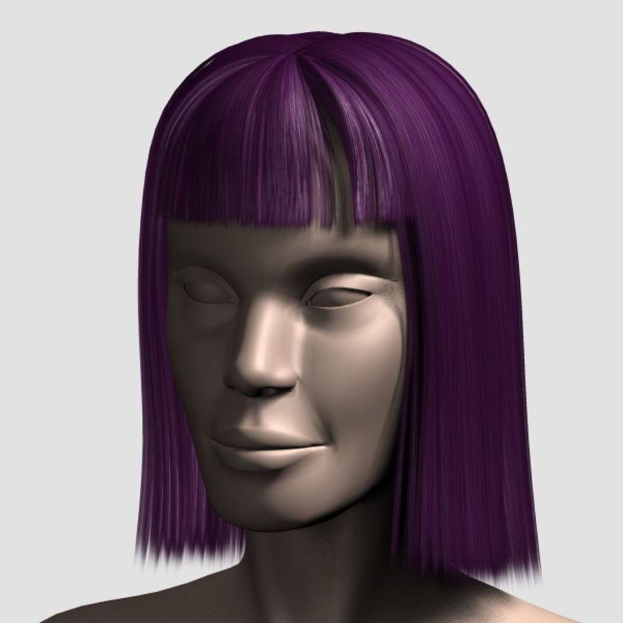 Hair_Mesh_09 royalty-free 3d model - Preview no. 11