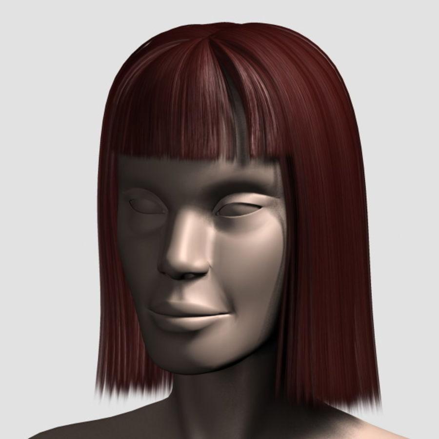Hair_Mesh_09 royalty-free 3d model - Preview no. 12