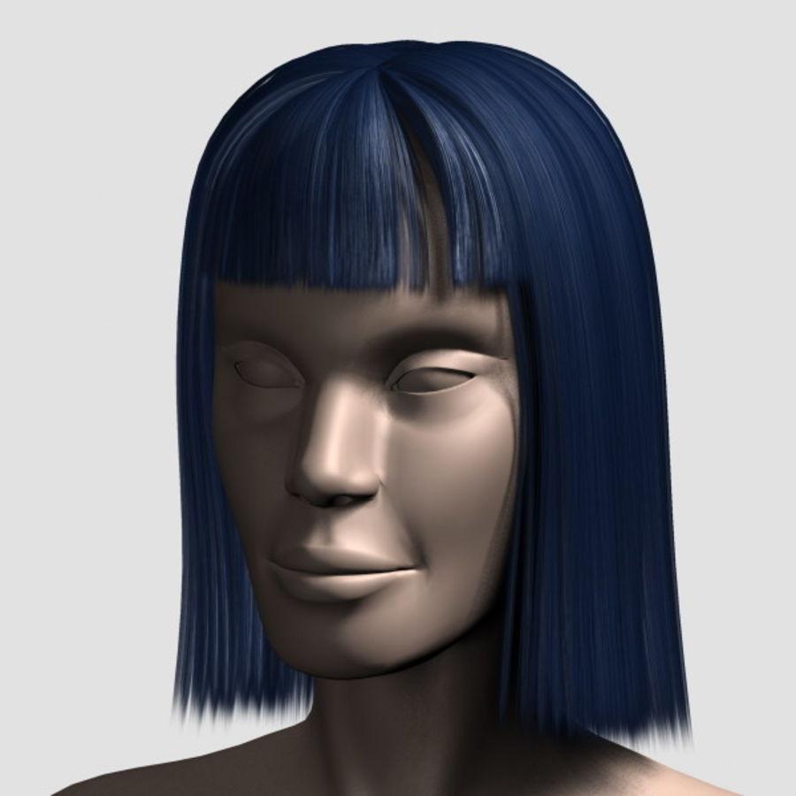 Hair_Mesh_09 royalty-free 3d model - Preview no. 9