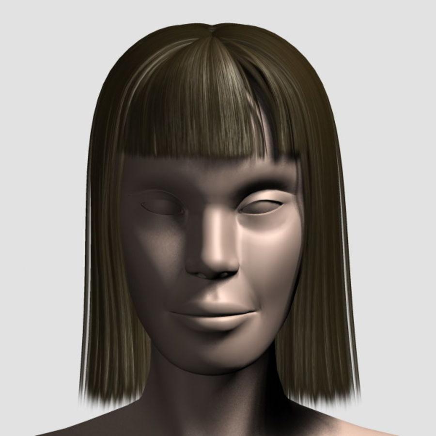Hair_Mesh_09 royalty-free 3d model - Preview no. 5