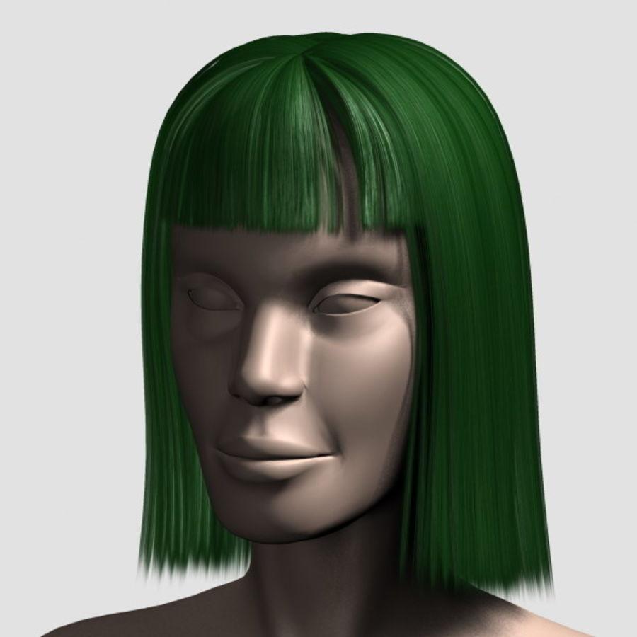 Hair_Mesh_09 royalty-free 3d model - Preview no. 10