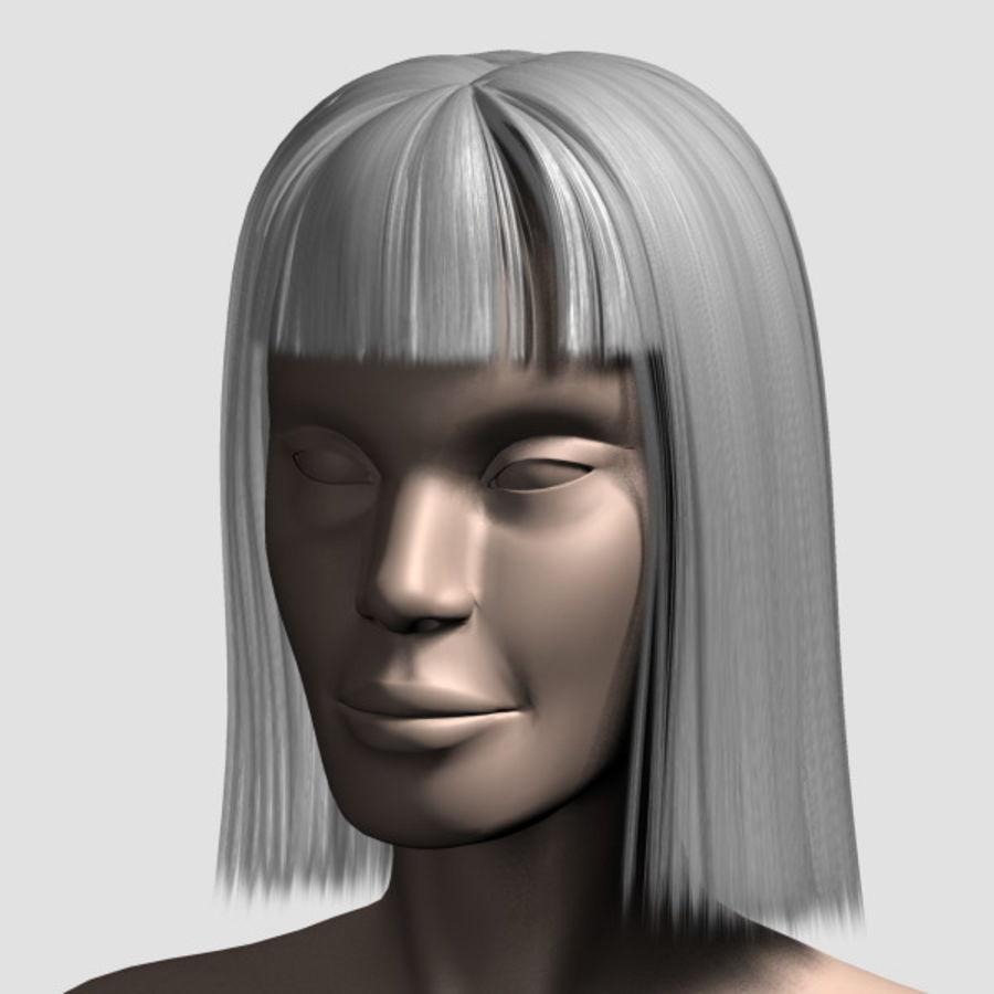 Hair_Mesh_09 royalty-free 3d model - Preview no. 13