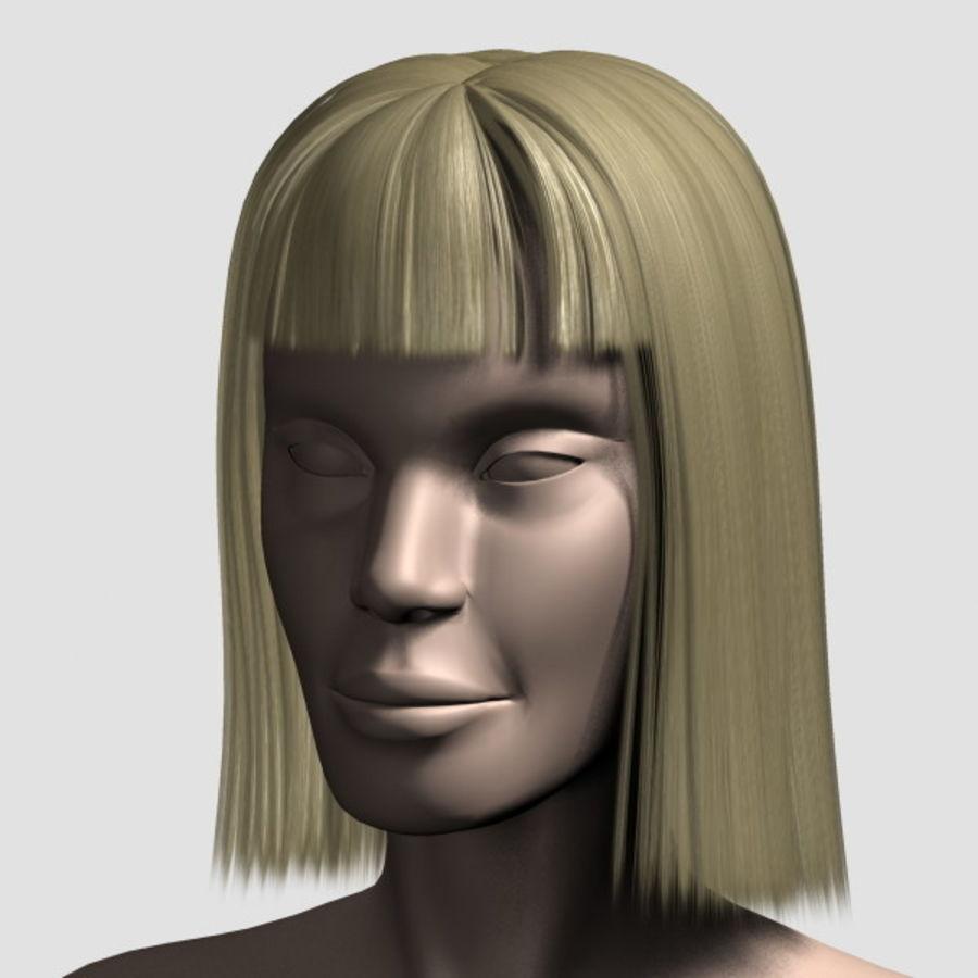Hair_Mesh_09 royalty-free 3d model - Preview no. 8