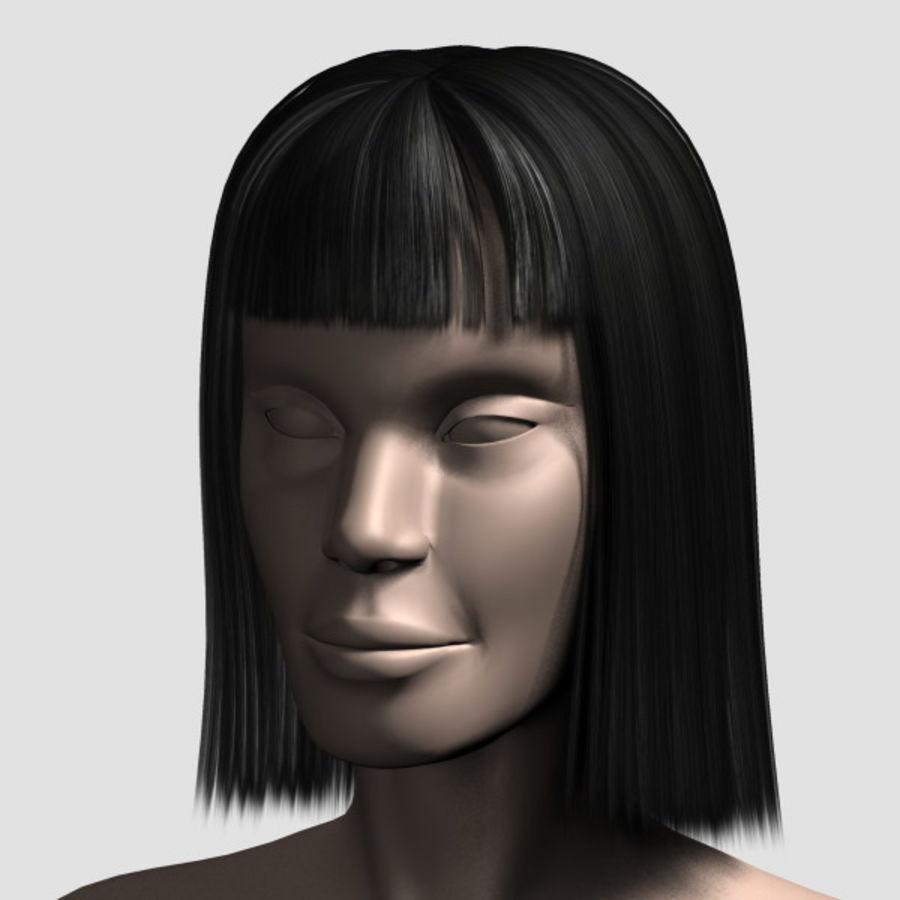 Hair_Mesh_09 royalty-free 3d model - Preview no. 7