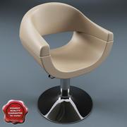 Salon Chair V3 3d model