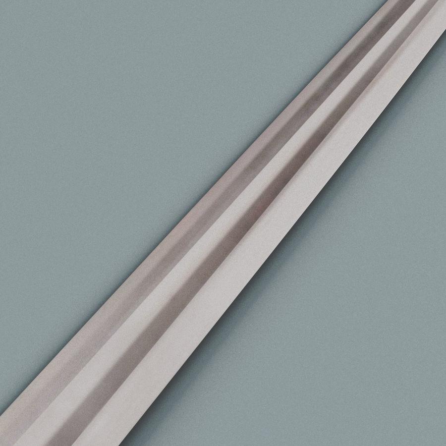 Viking Sword royalty-free 3d model - Preview no. 6