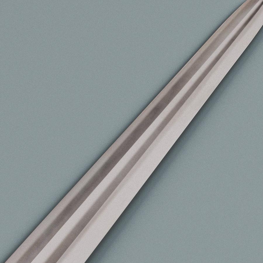 Viking Sword royalty-free 3d model - Preview no. 5