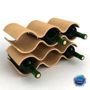 Wine Rack_01 3d model