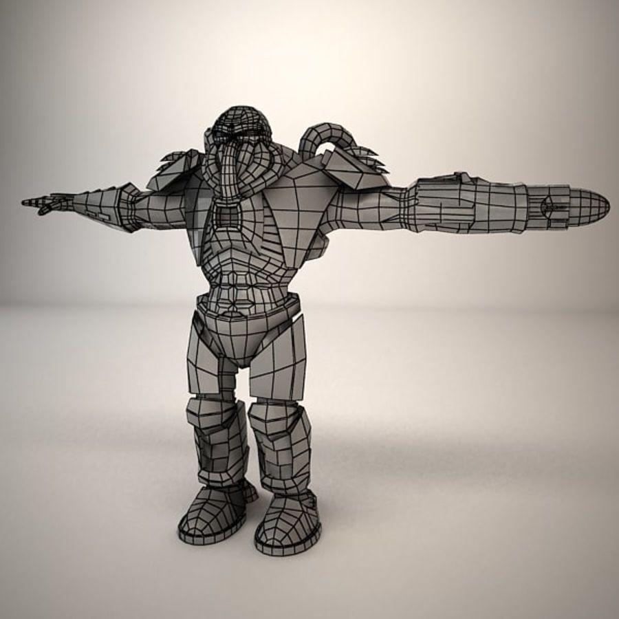Существо игрового персонажа royalty-free 3d model - Preview no. 8