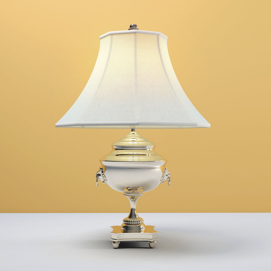 Ralph Lauren SAMOVAR TABLE LAMP Royalty Free 3d Model   Preview No. 1