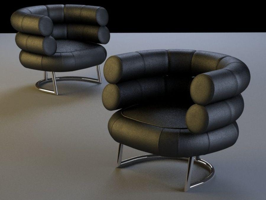 Бибендум Кресло royalty-free 3d model - Preview no. 1