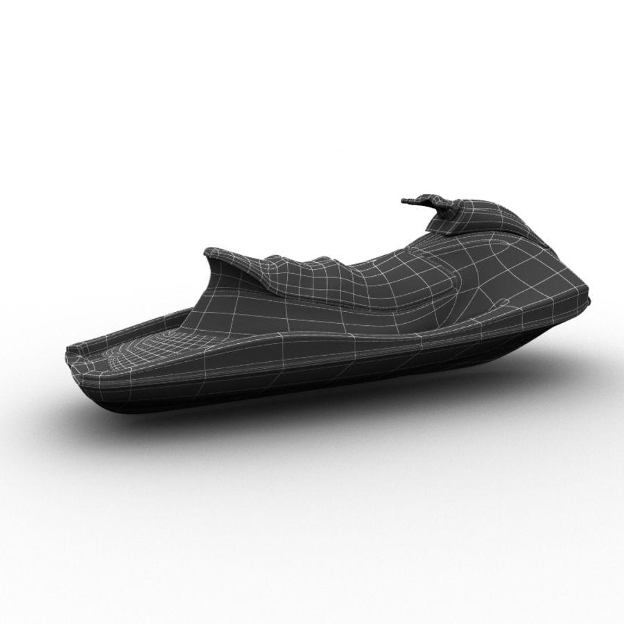 JET SKI royalty-free 3d model - Preview no. 3