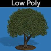 PL Low Poly Cherry Tree 3d model