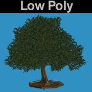PL Low Poly Oak Tree 3d model