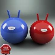 Hoppy Balls JumpSport 3d model