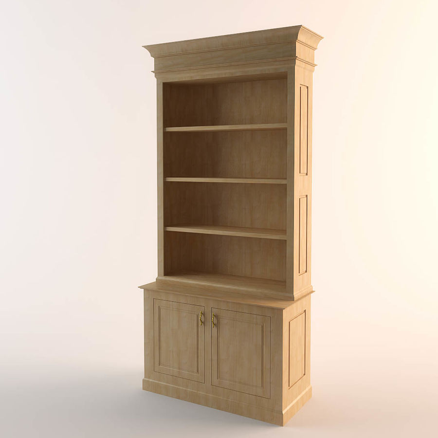 cupboard royalty-free 3d model - Preview no. 1