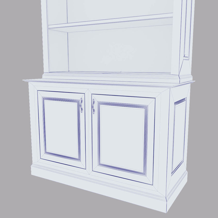cupboard royalty-free 3d model - Preview no. 2