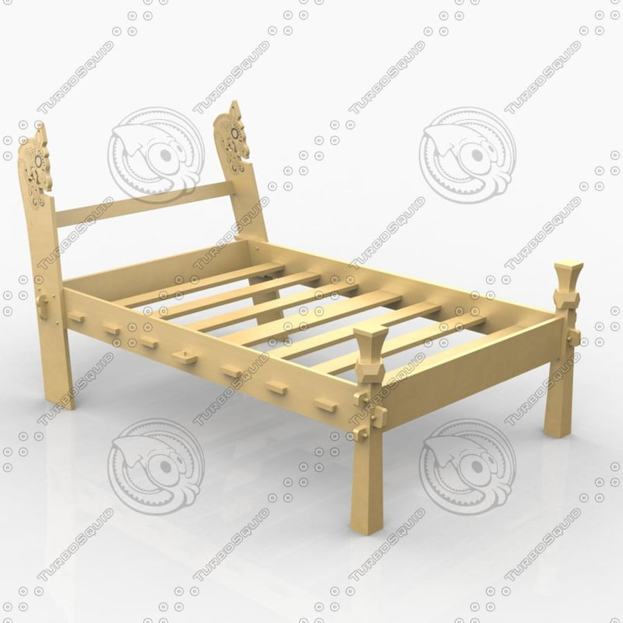 Viking beds 3D Model $10 -  3ds  3dm  skp  obj  c4d - Free3D
