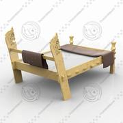 Viking beds 3d model