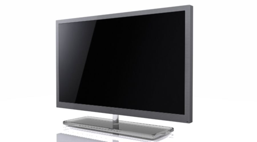 Samsung Led TV 9000 royalty-free 3d model - Preview no. 2